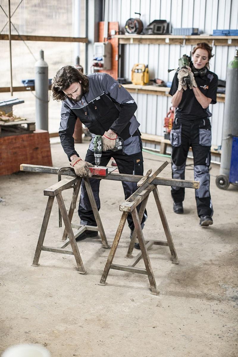 Berufsbekleidung für die Werkstatt