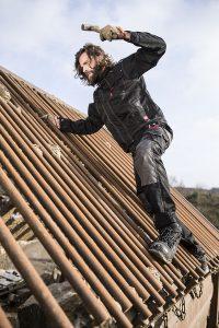 Arbeitsschutz für Dachdecker