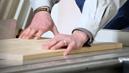 Maßgenauer Holzzuschnitt