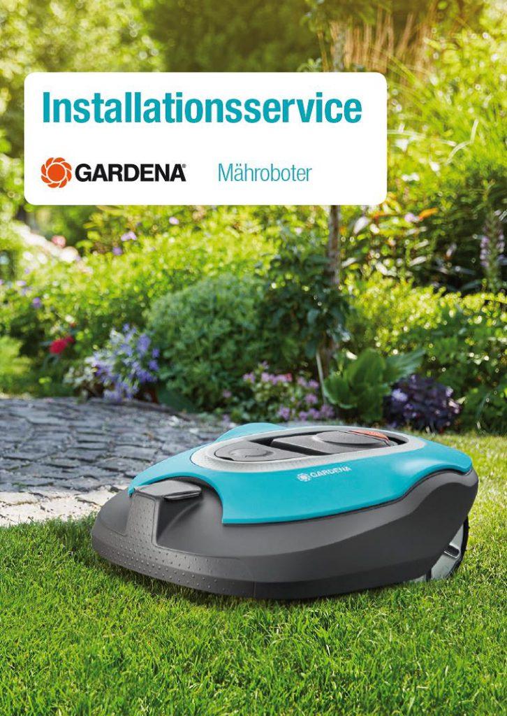 Installationsservice für Gardena Mähroboter
